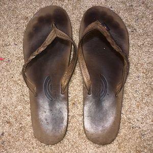 Shoes - Rainbow Brand Flip Flops